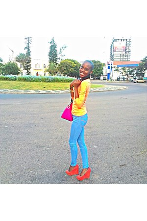 faux suede Qupid heels