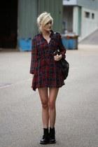 crimson Choies dress