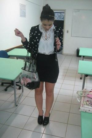 H&M jacket - Emprio LaFefe top