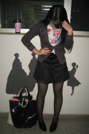Emprio LaFefe t-shirt - Zara shoes - Mercearia skirt