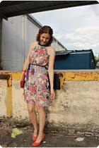 Target dress - Urban Outfitters heels