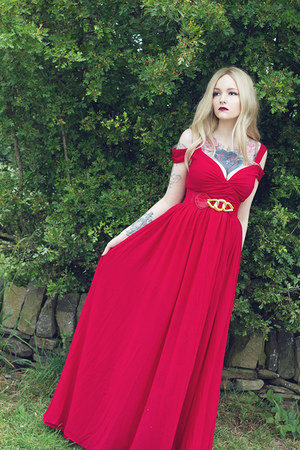 maxi dress Sheinsidecom dress