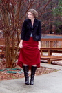 Ann-taylor-loft-blazer-thrifted-skirt-ny-co-top-michael-kors-boots-h-m-r