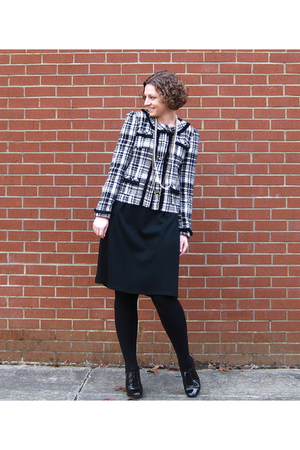 JCpenney blazer - Target dress - payless shoes