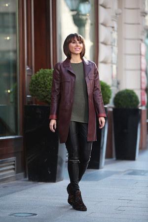 SUEL sweater - Stradivarius boots - Zara jacket - Zara pants