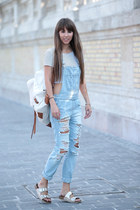 Bershka jeans - use unused bag - Stradivarius top