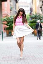 Ralph Lauren shirt - Látomás skirt - F&F heels