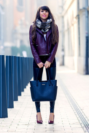 Spingfield jacket - Mango jeans - calvin klein bag