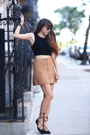 H&M top - H&M skirt - H&M heels