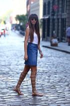 H&M top - H&M skirt - Zara sandals