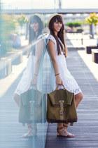 benzol bag - Stradivarius dress - Stradivarius sandals