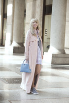 Bridget & Olivia dress - Bridget & Olivia coat - Louis Vuitton bag