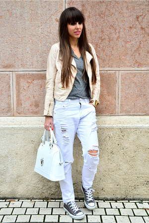 Zara jeans - H&M jacket - Cango&Rinaldi bag