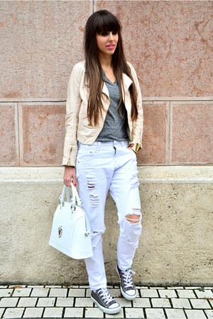 Zara jeans - H&M jacket - Cango&Rinaldi bag