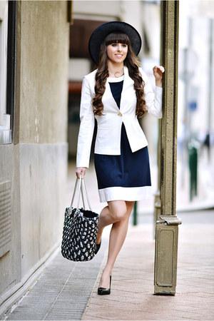 Mariann Boutique dress - Mariann Boutique blazer - Mariann Boutique bag