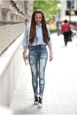 H&M jeans - Dorko shoes - H&M shirt