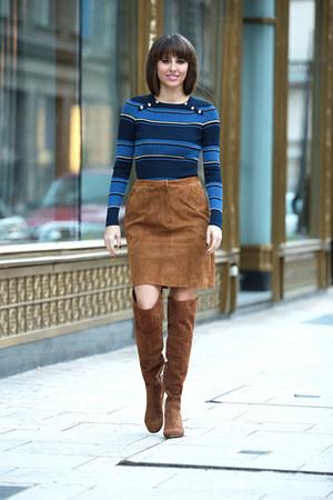 Stefanel top - espirit skirt