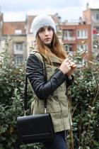 Zara coat - Zara hat - Zara bag