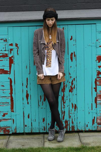 Topshop shorts - be original shoes - Urban Outfitters shirt