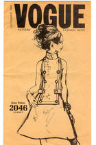 Vogue Pattern Fashion News December 1968 Jean Pato