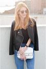 Sky-blue-boyfriend-jeans-bershka-jeans-black-faux-leather-style-moi-jacket