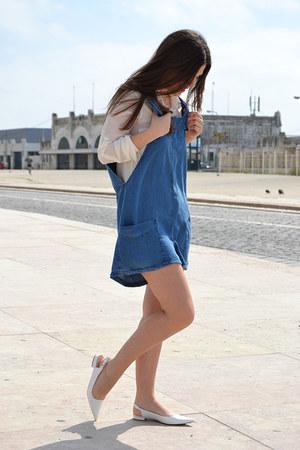 Zara shirt - Mango jumper