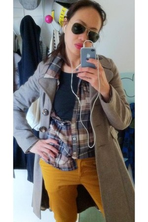 Topshop blazer - New Yorker shirt - H&M pants