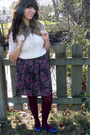 Thrifted-shirt-etsy-skirt-hue-tights-kimchi-blue-shoes