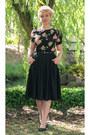 Black-seamstress-of-bloomsbury-blouse-black-midi-modcloth-skirt
