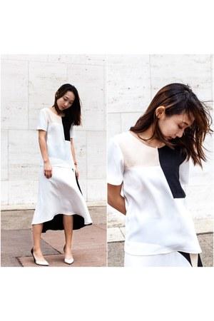Zara shirt - Zara skirt - 31 Phillip Lim heels
