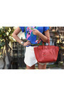 Red-celine-bag-white-zara-skirt-red-forever-21-heels-blue-ray-ban-glasses