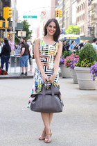 madewell heels - Clover Canyony dress - 31 Phillip Lim bag - madewell glasses
