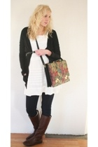 Top Shop jacket - Zara dress - H&M shoes