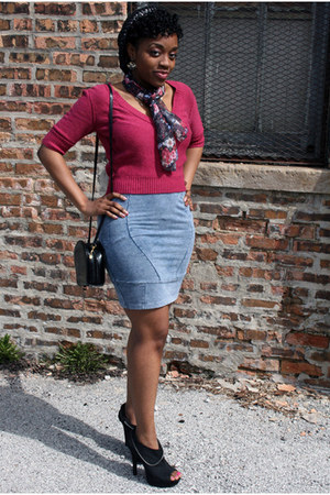 H&M skirt - Charlotte Russe shoes - American Eagle top