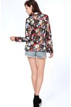 Floral Blazer Flauntcc Blazers