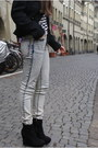 Black-military-jacket-h-m-jacket-heather-gray-cheap-monday-pants