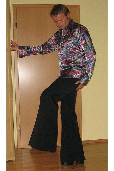 Fashion Pictures on Men S 70s Style Comycom Shirts  Black Orig70s Pants    Love The 70s