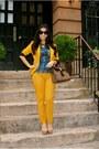 Mustard-zara-blazer-mustard-zara-pants