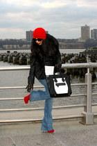H&M jacket - Aldo boots
