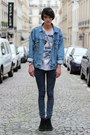 Black-clarks-shoes-blue-cheap-monday-jeans-blue-levis-vest