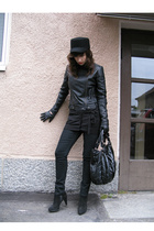 JSFN jacket - Cheap Monday pants - bullboxer shoes - Saddler purse