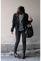 Mauritius jacket - Marimekko shirt - Cheap Monday jeans - Fendi shoes