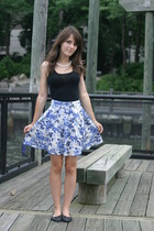 forever 21 shirt - H&M skirt - Steve Madden shoes