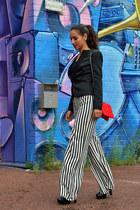 palazzo striped Zara pants