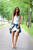 Zara shorts - Sacha heels