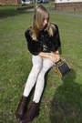 My-own-antique-cape-fox-vintage-russell-bromley-shoes-my-own-shorts