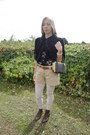 Fox-vintage-russell-bromley-shoes-my-own-shorts-fox-vintage-blouse
