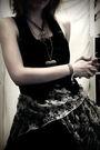 Scarf-dress-vest