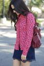 Coral-heart-print-forever-21-blouse-crimson-hamilton-tote-michael-kors-bag