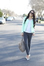 Heather-gray-ankle-zip-j-brand-jeans-aquamarine-tweed-zara-jacket